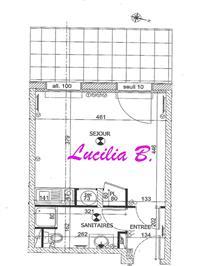 Immobilier de prestige : Appartement F1 bis à louer avec parking | Lucilia B. : votre spécialiste de l'immobilier sur Tours et environs